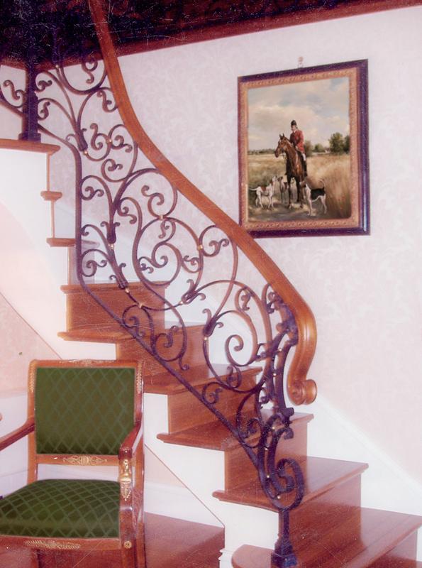 Sd fratelli d 39 oria scale interne in legno su misura - Scale d arredo per interni ...